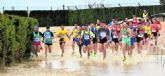 El atleta del Club Atletismo Totana Raul Cifuentes participa en el Cross de Yecla