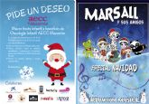 La fiesta solidaria de la AECC destinada a beneficio de oncología infantil se celebrará este martes 20 de diciembre