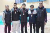 Dos medallas de oro y una de plata para el club taekwondo Mazarr�n en el campeonato regional j�nior