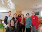 El PMEF 'Maderas de Bullas' felicitan la Navidad con un árbol hecho en madera
