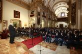 Los alumnos de la Fundación Alma Mater cantan a la Navidad