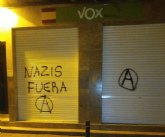 Atacan la sede de Vox Murcia