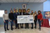 Entregados a Cáritas Archena los más de 3.000 euros que se recaudaron en la fiesta benéfica pro damnificados por la DANA de septiembre