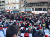Alumnos del Conservatorio y del CEIP Atalaya cantan a la Navidad en la Plaza del Ayuntamiento