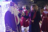 Espectacular llegada de Papá Noel a San Pedro del Pinatar