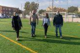 Molinos Marfagones estrena su campo de fútbol reformado