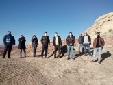 Comienzan la excavación arqueológica en el acceso al Castillo de Mula