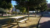 La Junta Municipal de Santiago y Zaraíche pone en marcha un plan de acondicionamiento en los parques y jardines de la pedanía