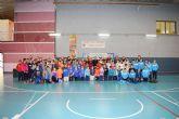 """Más de 100 alumnos del municipio participan en la actividad """"jugando al atletismo"""" del programa de deporte escolar"""