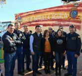 Los pilotos de la Patrulla Águila fueron los protagonistas en la inauguración del Parque que lleva su nombre en Santiago de la Ribera