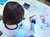 Arranca en Las Torres de Cotillas un taller infantil de pintura dentro del Plan de Desarrollo Gitano