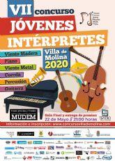El VII Concurso de Jóvenes Intérpretes Villa de Molina 2020 inicia su andadura en seis modalidades