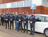 Comienza la formaci�n reglada de los nuevos agentes de la Polic�a Local de Alhama