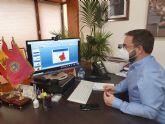 El alcalde de Lorca muestra su preocupación por la saturación del hospital Rafael Méndez debido al aumento de los casos de Covid en el área 3 de Salud