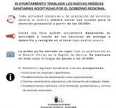 Entra en vigor la orden de cierre presencial de la actividad comercial y de servicios desde las 20:00h en la Región de Murcia
