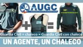 AUGC denuncia que la Guardia Civil retira chalecos antibalas por caducidad y deja a numerosos guardias civiles desprotegidos