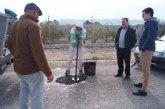 Realizan trabajos se parcheo en más de 30 kilómetros de la red de caminos rurales de Totana