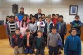 """Alumnos de Educación Primaria del colegio """"San José"""" participan en el programa """"Conoce tu ayuntamiento"""""""