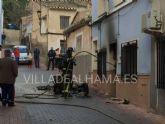 Los Bomberos sofocan otro fuego en Alhama de Murcia