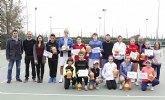 """Entrega de premios del XVII Open Promesas de Tenis """"Ciudad de Totana"""""""