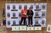 El torreño Cándido Osorio, ganador de la cuarta prueba del Circuito Nacional de Veteranos de bádminton