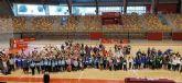 Los colegios Vicente Ros y Virgen del Carmen representarán a Cartagena en la final regional de ´Jugando al Atletismo´