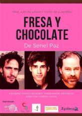 Alberto Alfaro y Teatro de la Entrega presentan la obra FRESA Y CHOCOLATE en el Teatro Villa de Molina el sábado 22 de febrero