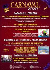 Molina de Segura celebra el Carnaval 2020 con desfile, mercado Zoco del Guadalabiad y actividades de animación infantil del 22 al 29 de febrero