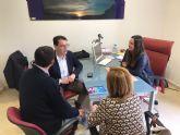 Ayuntamiento y CARM ahondan en la necesidad de mejorar la empleabilidad y ocio de los j�venes
