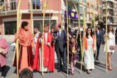 Procesión del Pueblo Hebreo y Misa de Domingo de Ramos