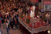 Lunes Santo, la Procesión de la Misericordia con la imagen del títular, el Santísimo Cristo de Salud y Misericordia