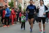 Casi cuatrocientos corredores participaron en la carrera de San José en Lorca