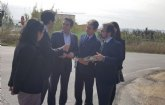 Fomento anuncia la mejora de la vía de acceso al polígono industrial Oeste desde Alcantarilla