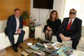 El alcalde celebra un primer contacto institucional con el delegado territorial de la ONCE en la Región de Murcia