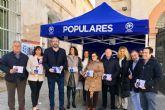 El PP presenta en Alhama de Murcia los presupuestos de la Comunidad