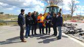 Fomento repara el firme de la carretera que conecta Torre Pacheco con la pedanía de Roldán