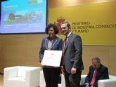 El Ayuntamiento de Puerto Lumbreras recibe una mención de honor en los Premios Nacionales de Comercio Interior