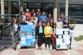 Alumnos del IES Dos Mares presentan un proyecto sobre la cristalización al concurso 'Mineraliza-SEM'