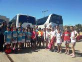 Varios escolares de Totana participan en la Final Regional de Campo a Través, en categorías alevín y benjamín