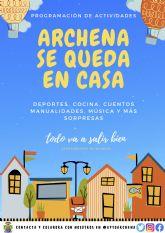 Archena: propuestas municipales para el confinamiento - covid19