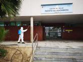 El ayuntamiento intensifica la desinfecci�n y fumigaci�n en Mazarr�n, Puerto y pedan�as contra el coronavirus