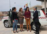 Hacienda entrega un vehículo al Ayuntamiento de San Pedro del Pinatar para servicios municipales