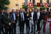 El PSOE reivindica a Pedro Saura y Diego Conesa que la Semana Santa de Alcantarilla sea declarada de interés turístico nacional por la enorme calidad de sus pasos