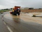 Abiertas al tráfico las carreteras regionales de La Tercia-Sucina y la de Balsicas-Avileses