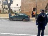 La Policía Local detiene a un hombre por delito contra la seguridad vial en cumplimiento de lo regulado en el Real Decreto del estado de alarma