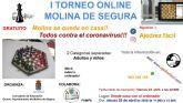 La Concejalía de Educación de Molina de Segura organiza el Primer Torneo de Ajedrez Online, que se celebra el sábado 25 de abril
