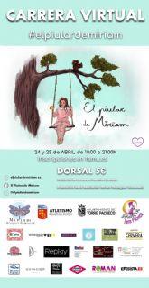 'El Piular de Miriam', carrera online los días 24 y 25 de abril para la construcción de una zona medio ambiental en El Pasico