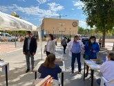 Cerca de 1.200 personas reciben hoy la vacuna contra la Covid-19 en Mula