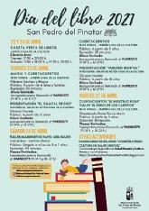 San Pedro del Pinatar celebra el día del libro con actividades de animación a la lectura y presentaciones con autores