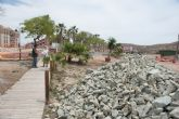 Acondicionan los accesos a la playa de la Isla